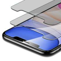 ESR [2-Pack] Tempered-Glass Privacy Compatible with iPhone 11 Screen Protector/iPhone XR Screen Protector, Easy Installation Frame, Anti-Spy, Case-Friendly, for iPhone 11 & iPhone XR