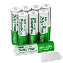 Deleepow Rechargeable AAA Batteries, 1200 Cycle Ni-MH Rechargeable AAA Battery, Long Lasting Low Self-Discharge Triple A Battery with Storage Case, 8 Pack (Battery Only)
