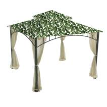 Garden Winds Replacement Canopy Top Cover for The Madaga Gazebo - Palm