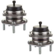 SCITOO Compatible with Rear Wheel Bearing Hub 512326 Hub Bearing Hub Assemblies 5 Bolts with ABS Sensor fits Hyundai Santa/Hyundai Veracruz Pack of 2