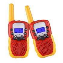 SnowCinda Toys for 4-5 Year Old Boys and Girls, Kids Walkie Talkies with 22 Channels 2 Way Radio Toy, 3 Miles Range for Outside Adventures,Best Gifts for 3-12 Year Old Boys and Girls