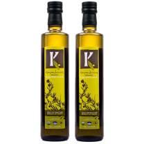Kasandrinos Organic 2 Pack olive oil 500 ml Bottles