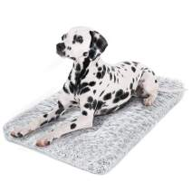 Dog Bed Kennel Pad Washable Anti-Slip Crate Mat for Extra Large Dogs and Cats (42-inch)