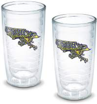 Tervis 1005844 Ca State University Bakersfield Emblem Tumbler, Set of 2, 16 oz, Clear