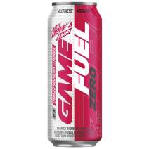Mountain Dew Game Fuel Zero, Charged Raspberry Lemonade, 16 oz cans (12 Pack) (Packaging May Vary)