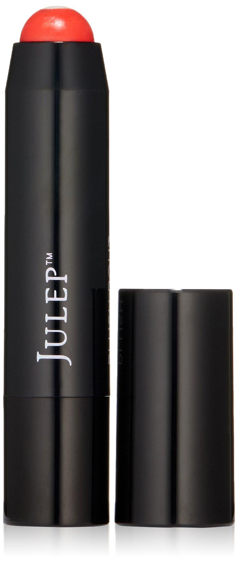 Julep It's Balm Plush Pout Full-Coverage Lip Crayon, Electric Coral