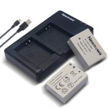 Newmowa NB-10L Battery (2 Pack) and Dual USB Charger Kit for Canon NB-10L, CB-2LC and Canon PowerShot G1 X, G15, G16, SX40 HS, SX50 HS SX60 HS Digital Cameras