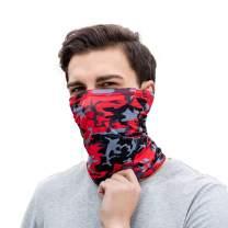 Headband Face Mask Bandanas Sports Multifunctional Sun Protection Balaclavas Elastic Cool Breathable Neck Gaiter