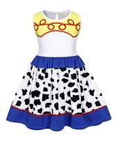 HenzWorld Little Girls Costume Dress Pajamas Nightgowns Princess Birthday Cosplay Party Outfits Cartoon 3D Print