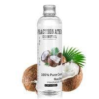 Fractionated Coconut Oil - 100% Pure & Natural Premium Liquid Coconut Oil for Aromatherapy Massage Moisturizing Skin & Hair