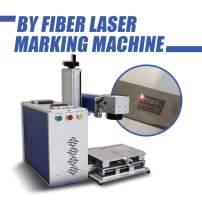 50W Fiber Laser Marking Machine,Engraver Machine, Portable Engraving Machine Maker (150×150mm(5.9×5.9in))