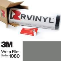 3M 1080 S51 Satin Battleship Gray 5ft x 14ft W/Application Card Vinyl Vehicle Car Wrap Film Sheet Roll
