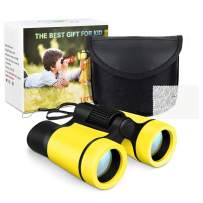 Tesoky Shock Compact Binoculars for Kids - Best Gifts
