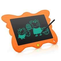 JOYOOSS Kids LCD Writing Tablet, 8.5 inch Portable Electronic Graphic Digital Writing Drawing Board Handwriting Notepad Paper Doodle Pad Memo Notes Erasable Blackboard for School - Orange