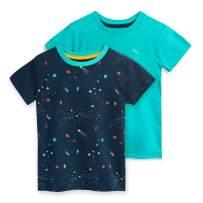 Mightly Kids Organic Cotton T-Shirt Short Sleeved Crewneck