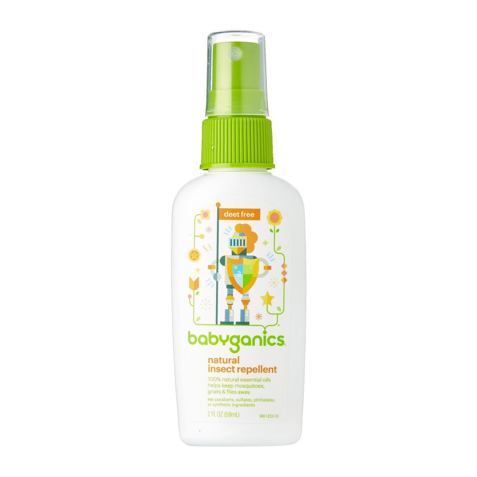 Babyganics Travel Size Bug Spray, 2oz, Packaging May Vary