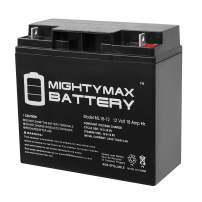 Mighty Max Battery 12V 18AH Battery Replaces BP17-12 GP12170 ES17-12 JC-1270 Enduring 6-DW-17 SLA17-12 Brand Product