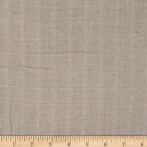 Shannon Fabrics Embrace Double Gauze Solid Fabric by The Yard, Silver