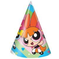 Powerpuff Girls Party Hats, 8ct