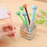WIN-MARKET Animal Style Expression Gel Ink Pen Cute Kawaii Black Writing Pens Ballpoint Black Ink Gel Pen Party Gift Gel Ink Pens Funny School Stationery Office Supplies(8PCS)
