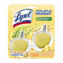 Lysol No Mess Automatic Toilet Bowl Cleaner, Citrus, 2 Count