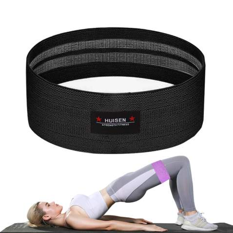 Yoga Pull Band Stretching Belt Exercise Resistance Booty Band For Legs And Butt,