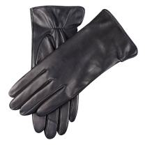 Winter Gloves for Women Genuine Leather Warm Cashmere & Wool Blend Lining Touchscreen Windproof Driving Dress