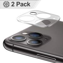 (2 Pack) Camera Lens Protector for iPhone 11 Pro/11 Pro Max, BASE MALL Anti-Scratch High Definition Tempered Glass Camera Lens Screen Cover Case for iPhone 11 Pro 5.8''/iPhone 11 Pro Max 6.5'' (Clear)