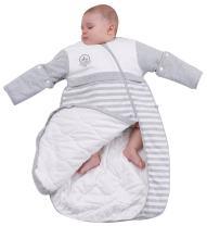 OuYun Baby Organic Sleeping Bag Detachable Sleeve Wearable Blanket Spring&Autumn