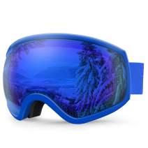 AKASO Ski Goggles, Snowboard Goggles - Anti-Fog, 100% UV Protection, Double-Layer Spherical Lenses, Helmet Compatible Snow Goggles for Men, Women, Youth & Kids (Explore Oregon Special Edition)