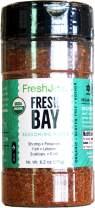 FreshJax Premium Gourmet Spices and Seasonings (Fresh Bay: Organic Sea Seasoning) 6.2oz