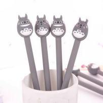 WIN-MARKET Fashion Cute Colorful Kawaii Lovely Cartoon Totoro Gel Ball Pens Office School Supply Stationery (6PCS)