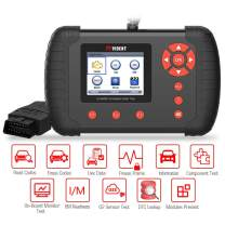VIDENT iLINK400 Scan Tool Automotive Full System Code Reader Compatible for VW/Audi/Skoda/SEAT OBDII ABS/SRS/EPB/Oil Service Light Reset/Throttle Body Alignment