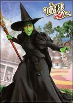 """Ata-Boy Wizard of Oz Wicked Witch of The West 2.5"""" x 3.5"""" Magnet for Refrigerators and Lockers"""