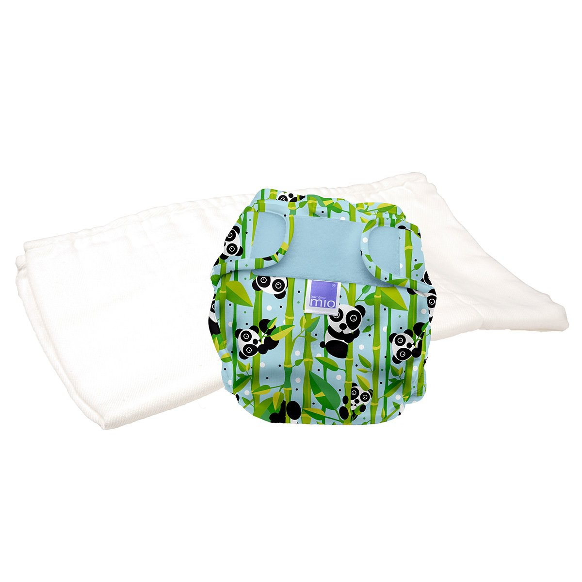 Bambino Mio, Miosoft Cloth Diaper Trial Pack, Bumble, Size 2 (21lbs+)
