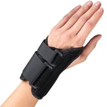 OTC Wrist Splint, Petite or Youth Size Support Brace, X-Large, 6 Inch (Left Hand)