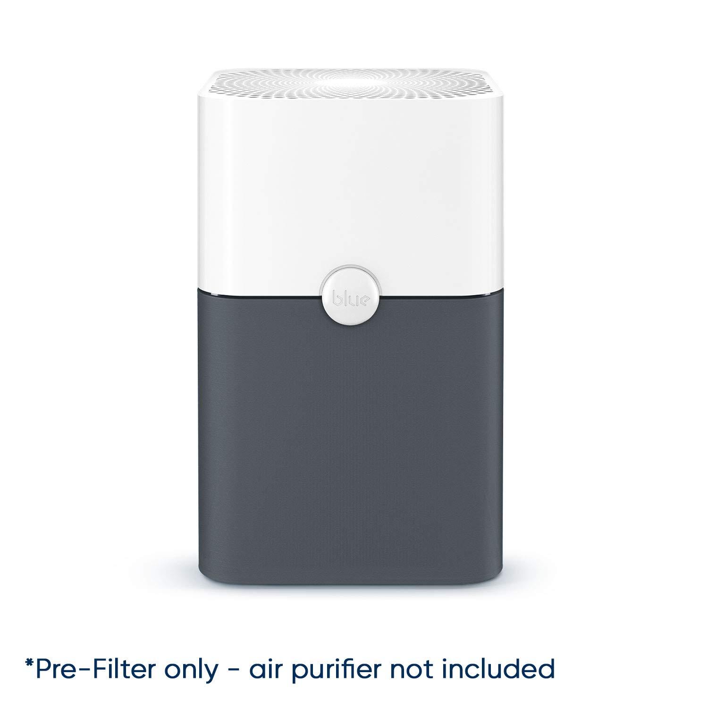 Blueair Blue Pure 211 Plus Dark Gray Washable Pre-Filter, Removes Pollen, Dust, Pet Dander and Other Airborne Pollutants, Dark Shadow