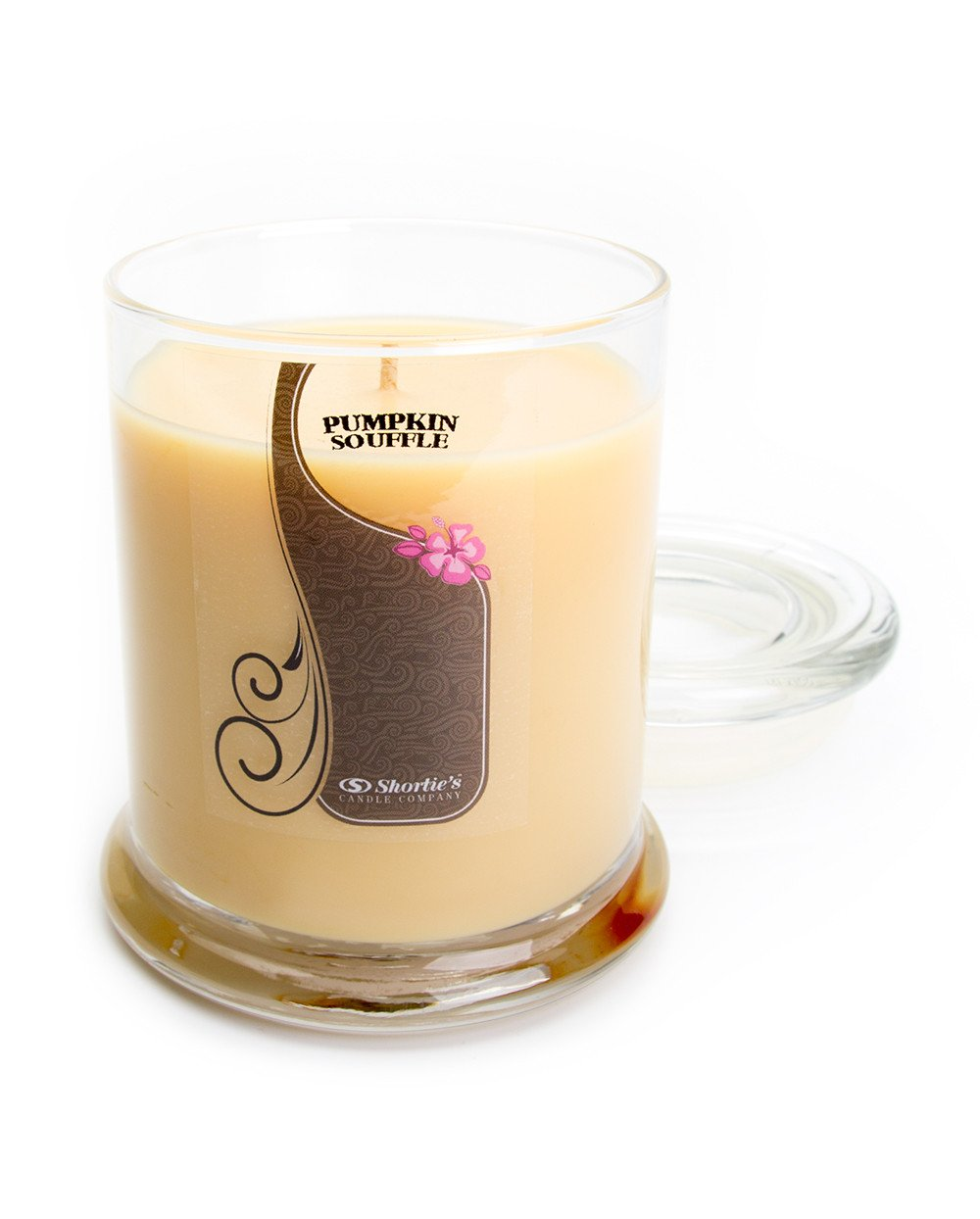 Pumpkin Souffle Candle - Medium Beige 10 Oz. Highly Scented Jar Candle - Made with Natural Oils - Bakery & Food Collection