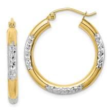 10k Yellow Gold 3mm Hoop Earrings Ear Hoops Set Fine Jewelry For Women Gifts For Her