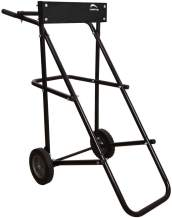 LEADALLWAY Outboard Boat Motor Stand Carrier Cart Dolly Storage Pro Heavy Duty Multi Purposed Engine Stand