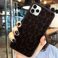 for iPhone 11 Pro Max Protective Case Super Cute Furry Leopard Print TPU Case Ultra Slim Girls Case Flexible Soft Rubber Shell Shockproof Funcky Back Bumper Case Cover for iPhone 11 Pro Max Black