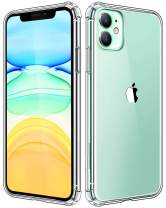 KUMEEK Compatible with iPhone 11 Case, Clear iPhone 11 Cases Cover for iPhone 11 6.1 Inch