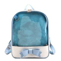 Donalworld Women Ita Bag Plastic Backpack Clear Summer Beach Shoulder Bag Bbu