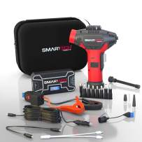 Smartech Power Kit | 12000mAh Lithium 12v Battery | 500 Amp Car Jump starter | 150 PSI Air Pump Tire Inflator | Portable Jump Starter with Air Compressor - Perfect Automotive Roadside Emergency Kit