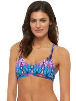 Skye Women's Katie Halter Bikini Top with Multi Strap Detail Swimsuit