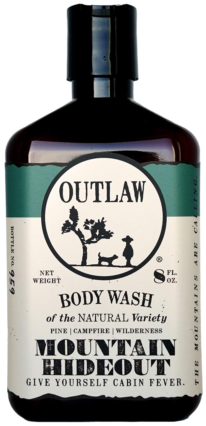 Mountain Hideout Natural Body Wash - Pine | Damp Earth | Campfire