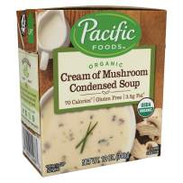 Pacific Foods Organic Cream of Mushroom Condensed Soup, 12oz, 12-pack