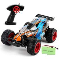 LBLA Remote Control Car, 2.4 GHZ 1: 22 High Speed Racing Car with Two Rechargeable Batteries,Kids Toys, Blue