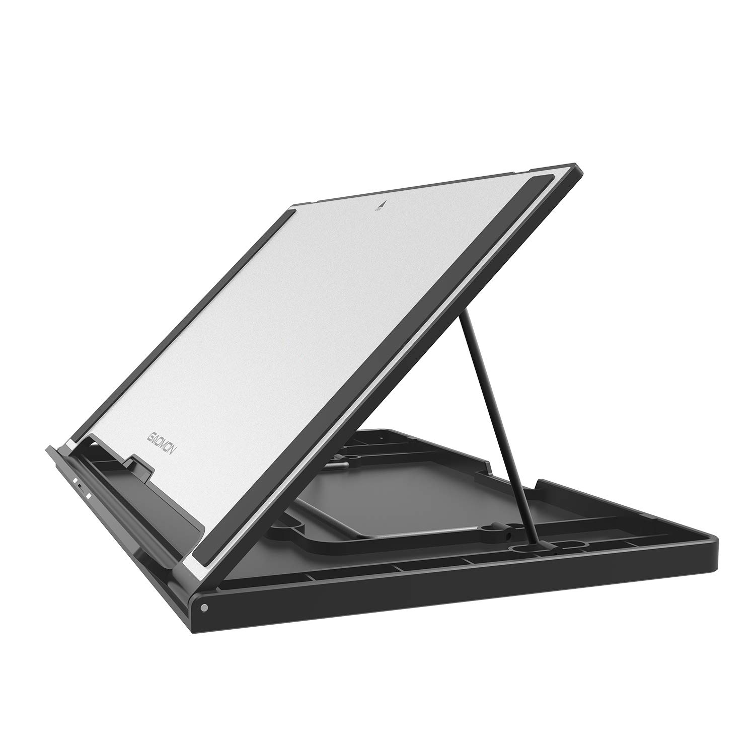 GAOMON Multifunctional Adjustable Stand Tablet Holder for PD156 PRO/PD1161 and Other Pads/Pen Displays/Tablets/Books Less Than 12mm Thickness