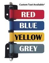 "Custom 4"" Exam Room Flags (1-12 Flag Options W Custom Text) (4 Flag System)"